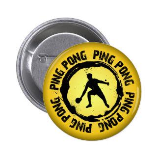 Nice Ping Pong Seal 6 Cm Round Badge