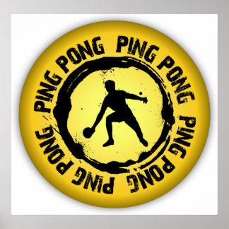 Nice Ping Pong Seal Poster