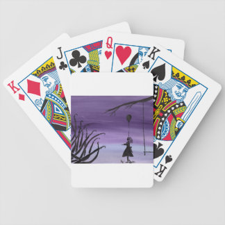 Nice Puppy Bicycle Playing Cards