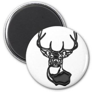 Nice Rack~Trophy Buck 6 Cm Round Magnet