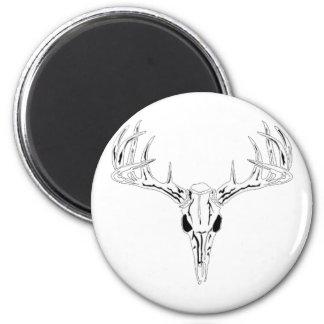 Nice Rack-Trophy Buck-Deer Rack 6 Cm Round Magnet