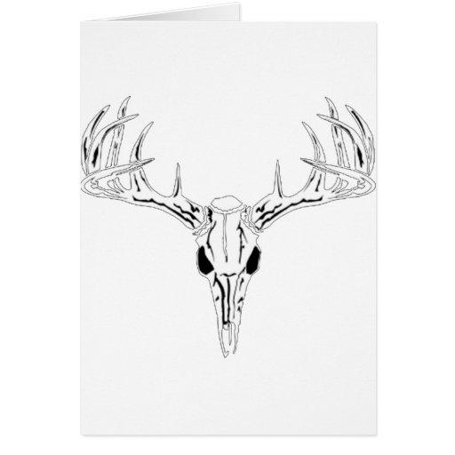 Nice Rack-Trophy Buck-Deer Rack Greeting Cards