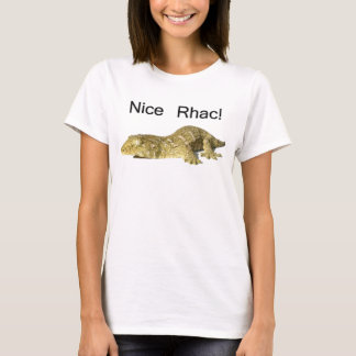 Nice Rhac! - New Caledonian Giant Gecko T-Shirt