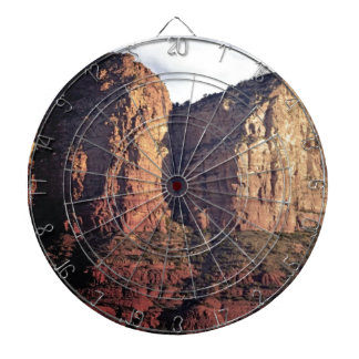 nice rock monument dartboard