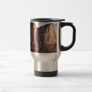 nice rock monument travel mug