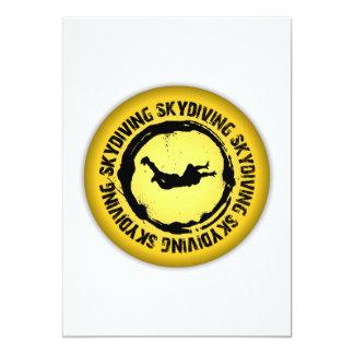 Nice Skydiving Seal Card