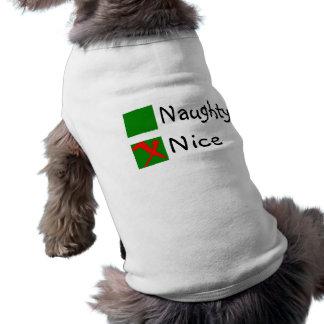Nice Sleeveless Dog Shirt
