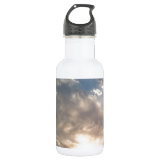 nice sun and clouds 532 ml water bottle