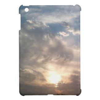 nice sun and clouds iPad mini cover