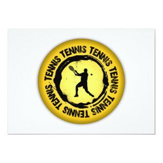 Nice Tennis  Seal (Male) 13 Cm X 18 Cm Invitation Card