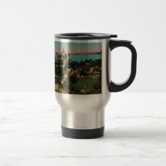 Nice - the gardens of Albert II France Stainless Steel Travel Mug