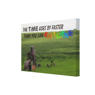 Nice Time Quote Canvas Print