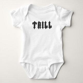 Nice Trill Print Baby Bodysuit