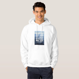 NICE WHITE HOODIE : MOTIVATIONAL SPEECH