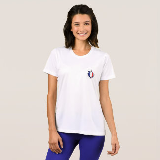 NICE WHITE TEE SHIRT : FRENCH STYLE