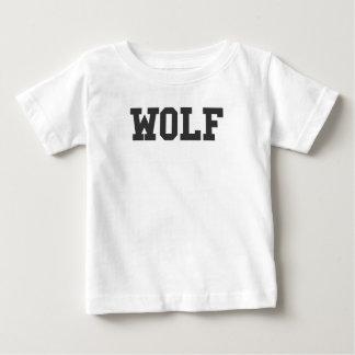 Nice Wolf Print Baby T-Shirt