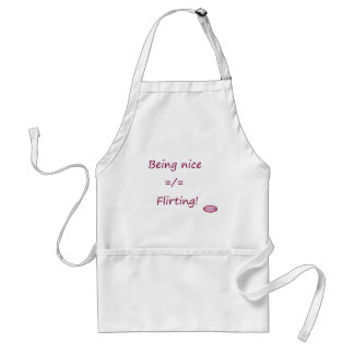nicedoesnotequalflirting1 standard apron