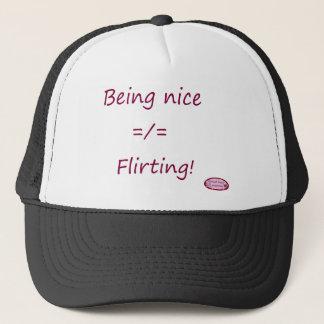 nicedoesnotequalflirting1 trucker hat