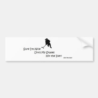 NiceIce2.jpg Bumper Sticker