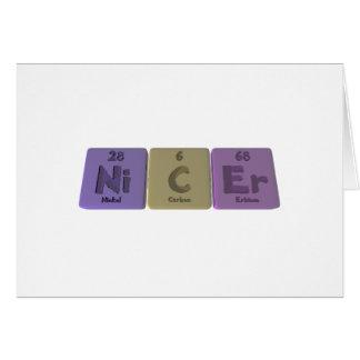 Nicer-Ni-C-Er-Nickel-Carbon-Erbium.png Greeting Cards