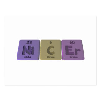 Nicer-Ni-C-Er-Nickel-Carbon-Erbium.png Post Cards