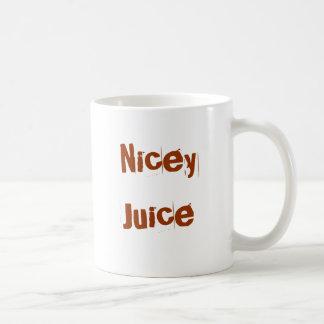 Nicey Juice Basic White Mug