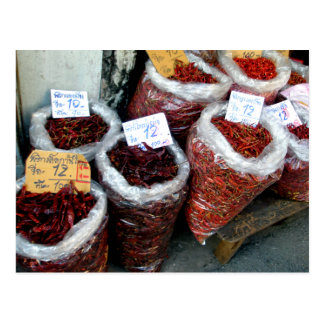Nicey Spicy, Thai chilies Postcard