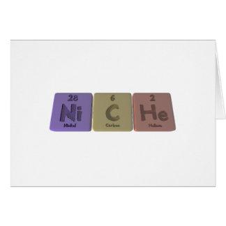 Niche-Ni-C-He-Nickel-Carbon-Helium.png Greeting Card