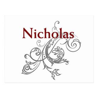 Nicholas Postcard