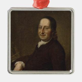 Nicholaus Ludwig Count von Zinzendorf Metal Ornament