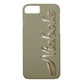 """""""Nichole"""" Custom Monogram iPhone 7 Case"""