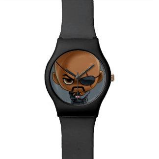Nick Fury Stylized Art Watch