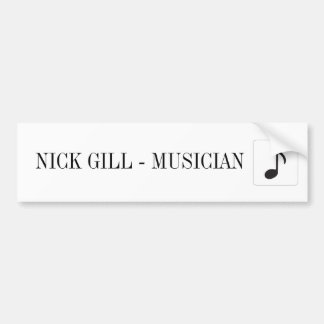 NICK GILL STICKER