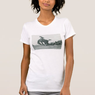 Nick Knight riding T. Joe at Cheyenne Frotier Days T-Shirt