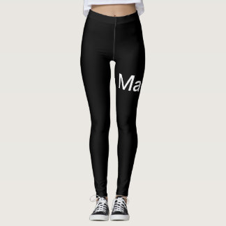 Nickasylum Black Madness Leggings