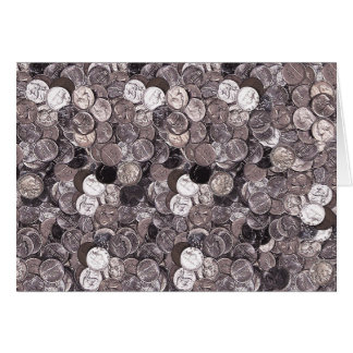 Nickel Coins Graphic Card