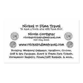 Nickel n Dime Pack Of Standard Business Cards