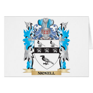 Nickell Coat of Arms - Family Crest Greeting Cards