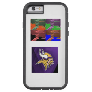 nickiscool and vikings phone case