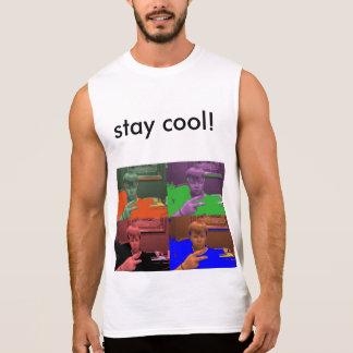 nickiscool sleeveless shirt