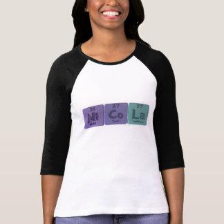 Nicola  as Nickel Cobalt Lanthanum T-Shirt