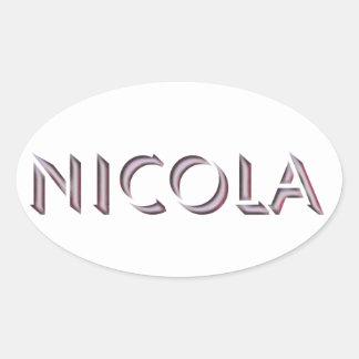 Nicola sticker
