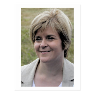 Nicola Sturgeon First Minister of Scotland Postcard