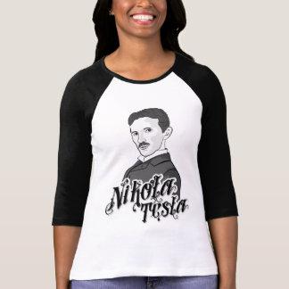 Nicola Tesla Girls Design T-Shirt