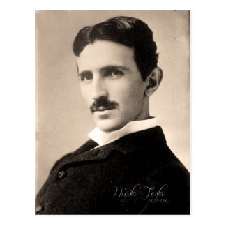 Nicola Tesla Photo Postcard