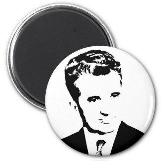 nicolae ceausescu romanian communist dictator pcr magnet