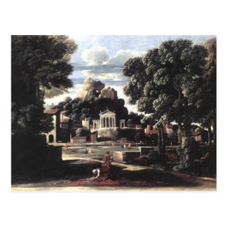 Nicolas Poussin- Ashes of Phocion collected Postcard
