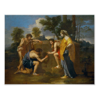 Nicolas Poussin - Et in Arcadia ego Poster