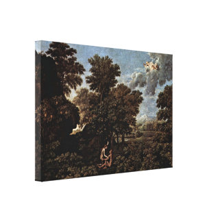 Nicolas Poussin - Spring Gallery Wrapped Canvas