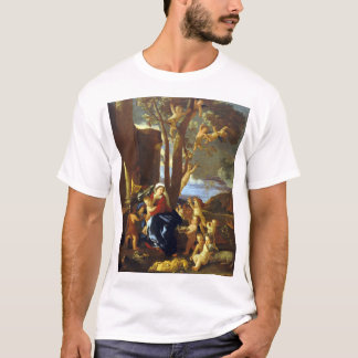 Nicolas Poussin The Rest on the Flight into Egypt T-Shirt